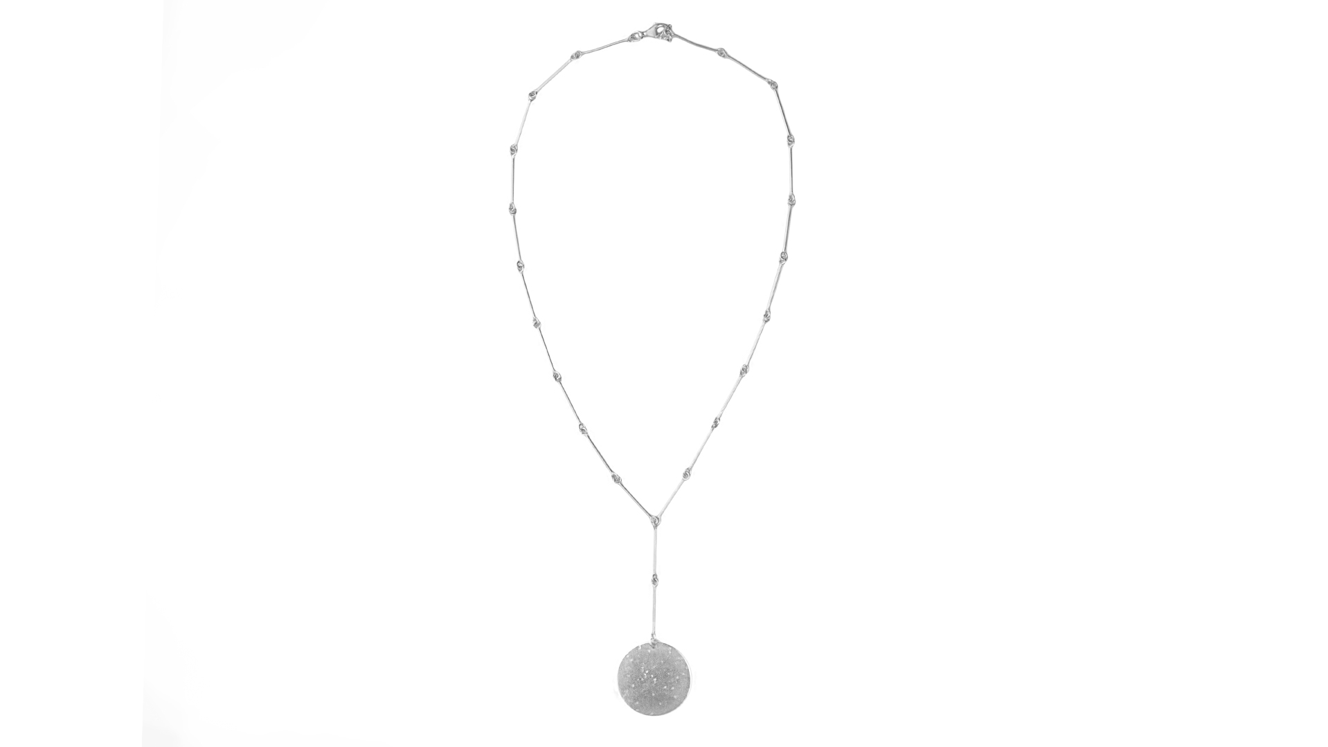 Mobile pendulum necklace
